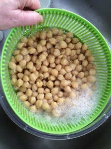 I'll agitate my beans in a salad spinner to loosen skins.